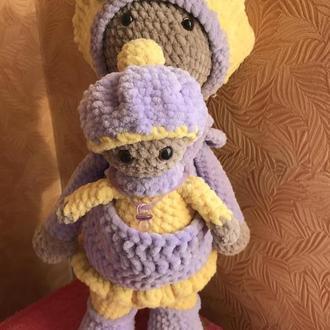 Кукла с пупсом