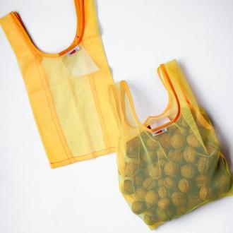 Мини маечка из сетки для фруктов, покупок, мешочек мини, замена пакетам, Киев, Харьков
