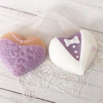 """Сувенирное мыло """"Жених и невеста"""""""