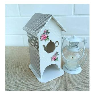 Ажурный чайный домик
