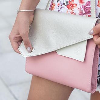 """Розовая сумка через плечо """"Frida"""""""