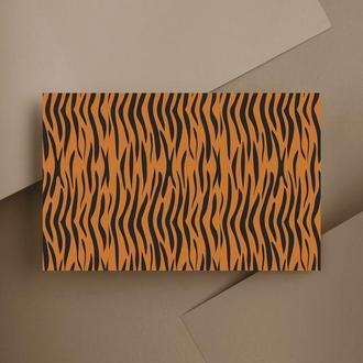 Дизайнерская бумага односторонняя Classical_Animal_Print 07