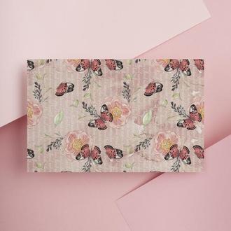 Дизайнерская бумага односторонняя А4 butterfly 02