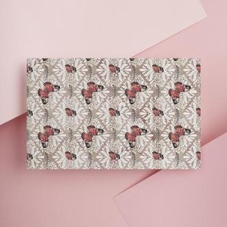 Дизайнерская бумага односторонняя А4 butterfly 03