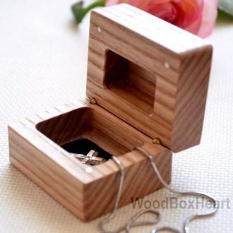 Деревянная детская коробочка для крестин, шкатулка для украшений