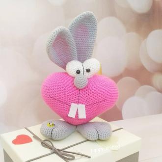 Валентинки,заяц сердечный,Валентин