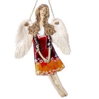 Ангел керамічний  Настінний декор