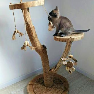 ЭКО Когтеточка для кошки. Когтеточки, домик, лежак, комплекс для кошки. Игровой комплекс.