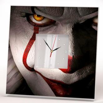 """Годинник з будь-яким малюнком на замовлення """"Фільм Воно. Клоун"""""""