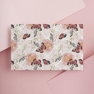Дизайнерская бумага односторонняя А4 butterfly 10