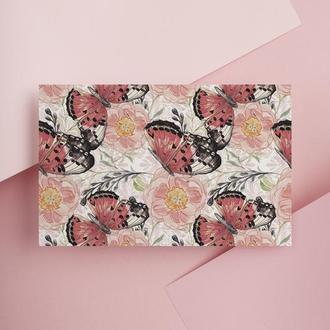 Дизайнерская бумага односторонняя А4 butterfly 13