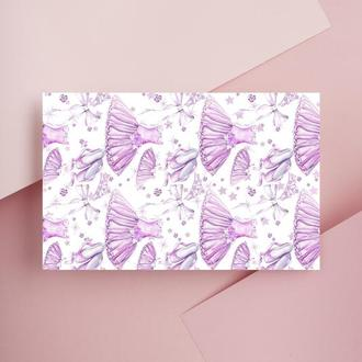 Дизайнерская бумага односторонняя А4 Ballet_Shoes 09