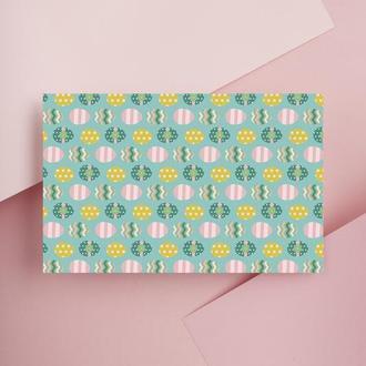 Дизайнерская бумага односторонняя А4 Еastertime 09