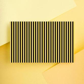 Дизайнерская бумага односторонняя А4 Bumble bee 06