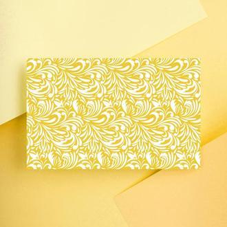 Дизайнерская бумага односторонняя А4 Bumble bee 13