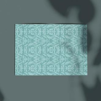 Дизайнерская бумага односторонняя А4 Frozen Heart 04