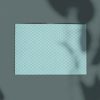Дизайнерская бумага односторонняя А4 Frozen Heart 06