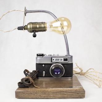 Настольная лампа PRIDE&JOY из винтажных фотоаппаратов 26GL