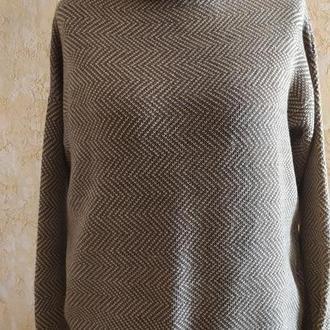 Женский вязаный костюм чистая шерсть меринос
