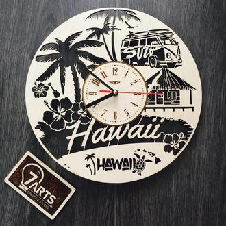 Интерьерные часы на стену «Гавайи»