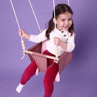 Качели детские подвесные, гойдалка дитяча, качель детская