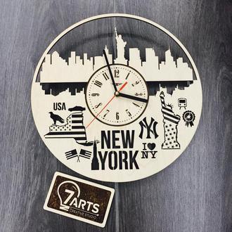 Дизайнерские настенные часы «Нью-Йорк»