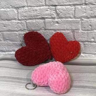 сердце брелок