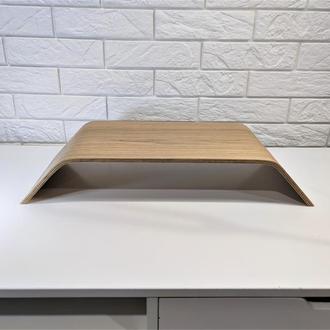 Деревянная подставка для монитора - Дуб