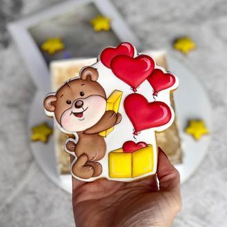 Подарочный пряник на 14 февраля, День влюбленных, день Валентина