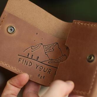 Компактный мини-кошелек