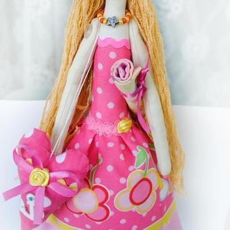 "Кукла тильда ""Пляжница"""