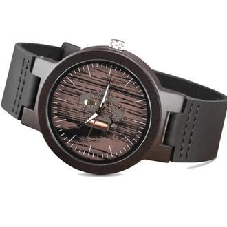Наручные деревянные часы с гравировкой Woodi 2