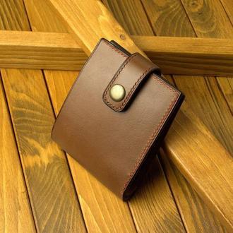 Мужской кошелек/портмоне (натуральная кожа)