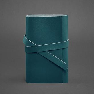 Кожаный блокнот (Софт-бук) 1.0 Зеленый Краст
