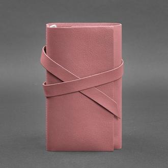 Женский кожаный блокнот (Софт-бук) 1.0 Розовый