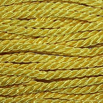 Канат декоративный (т) 8мм (10м) желтый