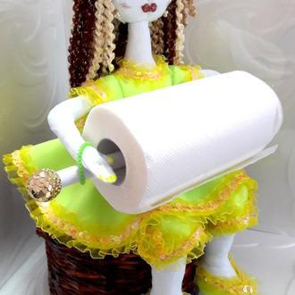 кукла держатель бумажных полотенец
