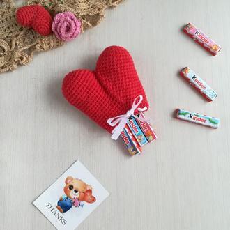Подарочная сумочка Сердце