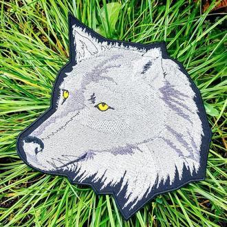 Волк шеврон, нашивка