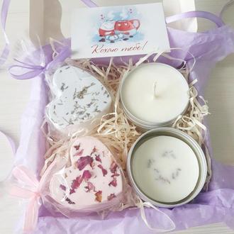 Мини СПА бокс для ванной Оригинальный подарок для мамы подруги коллеги на День рождения