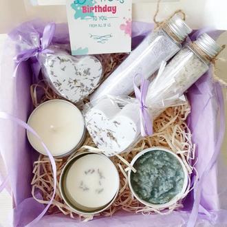 """Большой набор для ванной """"Прованс"""" - косметика ручной работы - лучший подарок для девушки женщины"""