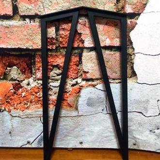 Раскосые опоры для стола профиль 25х25мм