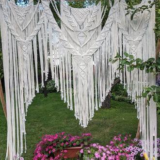 Весільна арка Арка макраме