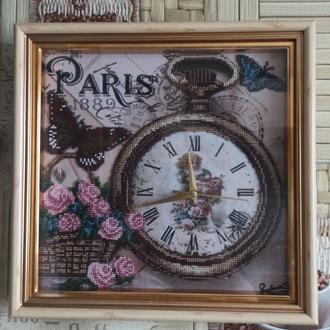 Часы Вышитые Бисером, Париж