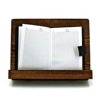 """Подставка для кулинарных книг и  планшетов """"Макай"""" мускат"""