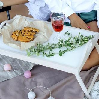 Столик для завтрака. Столик-піднос для сніданку