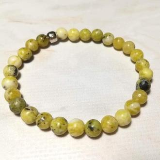 Браслет из Жадеита тонкий натуральный камень \ Sb - 0123-2