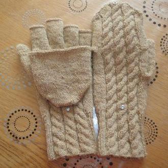 Перчатки-варежки-трансформеры.