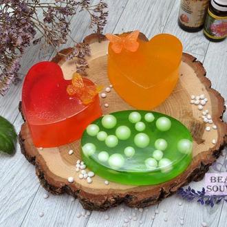 Антибактеріальне мило, евкаліпт, чайне дерево, апельсин
