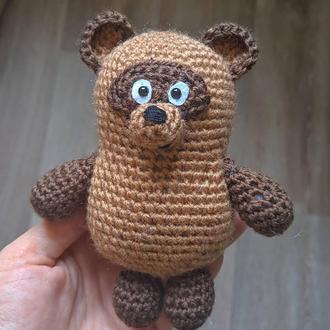 Вязаная игрушка Винни-Пух